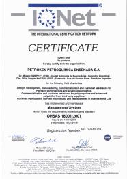 OHSAS 18001:2007 / IQNET