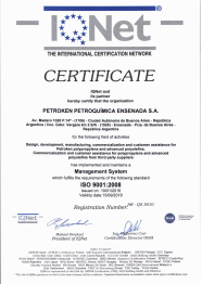 ISO 9001:2008 / IQNET