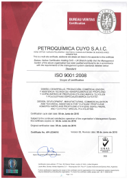 ISO 9001:2008 / UKAS