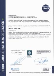 IRAM - OHSAS 18001:2007