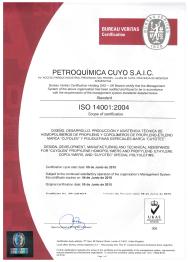 ISO 14001:2004 / UKAS